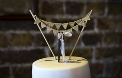 Whitstable - A&K - Cake (Elly O'Reilly) Tags: wedding toppers weddingcake weddingcaketoppers weddinginspiration inspiration colour light shadow dark beautiful inspiriation bella cake celebration d610 bright bunting party