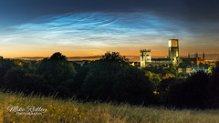 Noctilucent clouds ... (Mike Ridley.) Tags: cloud nature astrophotography nlc durhamcity durhamcathedral noctilucent noctilucentcloud mikeridley astrophotographer sonya7s sony2470fegm