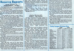 Manchester City vs Tottenham Hotspur - 1987 - Page 23 (The Sky Strikers) Tags: road city magazine manchester spurs one maine match division today league tottenham the hotspur 60p