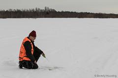 30-IceFishing4 copy (Beverly Houwing) Tags: fish snow suomi finland frozen hole lapland kukkola icefishing risto tornioriver