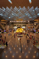 Hamad International Airport. Doha (Qatar) (joseluis.cueto) Tags: hamadinternationalairport hamad doha qatar airport arquitectura architecture edificios terminal qatarairways interior canon eos 6d canon6d 2470f4