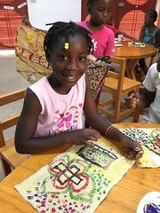 Sabrina Bien-Aime (Haiti Partners) Tags: childrensacademy 2016 july haiti entrepreneurship socialbusiness artscrafts papermaking