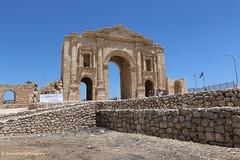 Frontspice, Entrance to Jerash, Gerasa, Jordan (ssspnnn) Tags: gerasa jerash jordan jordania decapolis spnunes nunes snunes spereiranunes canoneos70d romanempire romanos imperioromano conquistas
