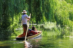 River Stour, Canterbury (that Geoff...) Tags: westgategardens toddlerscove river tours stour canterbury cathedral city weepingwillows summer kent august july punt boat boats love couple canon 70d