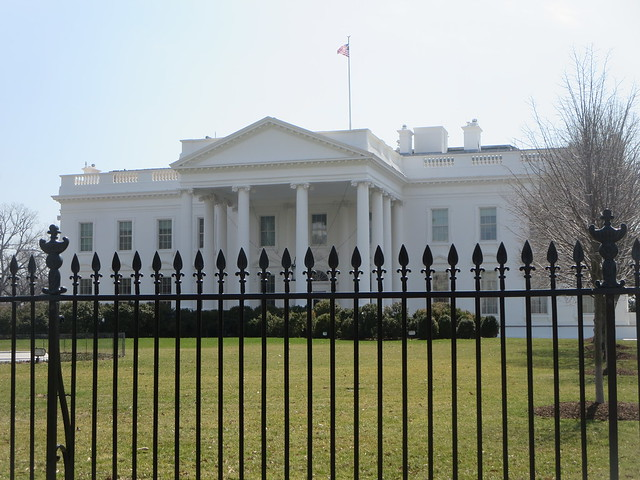 The White House in Washington, D.C. USA United States of America