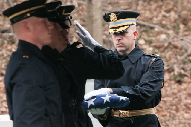 Col. Richard E. Cross Army Full Honors Funeral March 25, 2015