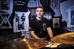 Terrance (ashlee hutchinson) Tags: music boys drums drum flash canadian hardcore drummer kit merch cymbals sb metak deathcore