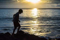 Sunset silhouette in Maui (adechazal2002) Tags: sunset silhouette hawaii maui boyonrocks