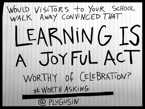 Slide_LearingisJoyful by William M Ferriter, on Flickr