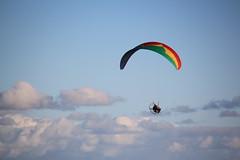 Powered Paragliding (francisco.castro) Tags: uruguay montevideo paragliding paraglider powered paraglide pocitos paramotor paramotoring