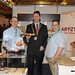 Showtel Paul Hyland and Leo Molloy, Aryzta Food solutions and Stephen McNally, IHF President
