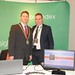 Showtel David Heneghan, CX Index and Stephen McNally, IHF President