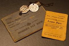 Dad's memorabilia (cupra1) Tags: dads liberator raaf memorabilia medals b24m consolidatedb24mliberator paybook leavepass dadsmemorabilia