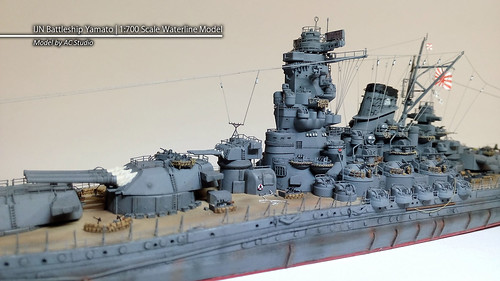 Flickriver: Photoset '1/700 Yamato - IJN Battleship (Best of Show