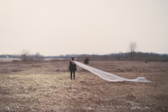 """""""I loved you more than I've ever loved anyone."""" (H o l l y.) Tags: winter portrait white cold color film nature field analog 35mm vintage landscape cool movement pretty alone wind pentax grain retro fabric indie flowing nothing vast"""