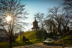 Calvaria Church (Lucian Nuță) Tags: sunset church romania cluj napoca clujnapoca calvaria clujmănăștur
