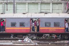 Train Passengers, Mumbai