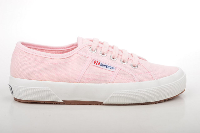 classic rosa canvas sneaker superga cotu 2750 damensneakers