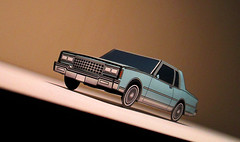 '80 Chevy Caprice (jcarwil) Tags: art chevrolet car photoshop paper 3d model box craft chevy 80 1980 papercraft caprice 2015 jcarwil