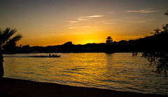 La Paz Sunset (http://fineartamerica.com/profiles/robert-bales.ht) Tags: park blue camping winter sunset arizona sky panorama cloud brown sun sunlight mist mountain southwest nature water beautiful beauty weather silhouette yellow horizontal fog clouds sunrise outdoors boat twilight scenery desert cloudy outdoor speedboat scenic warmth peaceful panoramic heat coloradoriver dust cloudscape parker iphone robertbales