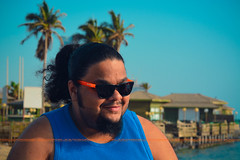 Maldives (dr.7sn Photography) Tags: blue sea orange sun beach home sunglasses shirt hair palms lens island wooden nikon zoom dr tan hassan lon maldives 50200mm شعر galsses تي البحر النخيل شبابي طويل برتقالي عدسة بيوت كورنيش شاطيء كول ازرق نيكون جزر خشبية نظارة شمسية سياحة شيرت d7100 المالديف احتراف اورنج فلة احترافي زوم شبابية alshehri تشميس تان كباين