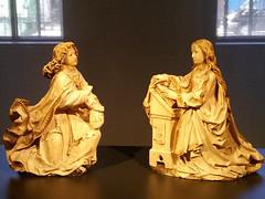 De verkondiging aan Maria - Tilman Riemenschneider (ca. 1460-1531) (zaqina) Tags: amsterdam maria engel rijksmuseum tilman aan riemenschneider gabril verkondiging