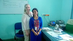 Ashley  from California with Shruti-- 14 May,2016 in JOSE's Office (DoctorsCamera) Tags: india sam elsa amit renuka madhu reena taruna sudhir apoorva prabhakar ppes pardadapardadi