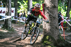 Lateral (Andrea Securo) Tags: world terrain mountain cup sports bike danger trek all extreme fast bikes down downhill val dh mtb di sole jumps faster shimano