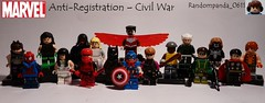 Anti-Registration – Civil War (Random_Panda) Tags: comics book team war comic lego fig character books super civil civilwar cap hero figure superhero characters heroes minifig minifigs superheroes marvel figures figs minifigure minifigures teamcap
