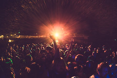 Crowd photo by Roger Ho