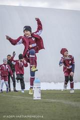 1604_FOOTBALL-135 (JP Korpi-Vartiainen) Tags: game girl sport finland football spring soccer hobby teenager april kuopio peli kevt jalkapallo tytt urheilu huhtikuu nuoret harjoitus pelata juniori nuori teini nuoriso pohjoissavo jalkapalloilija nappulajalkapalloilija younghararstus