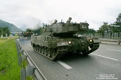 Leopard 2 A4 / Bundesheer (Combat-Camera-Europe) Tags: 2 army tank exercise military border brenner leopard exercises innsbruck tanks panzer militr armoured bung bundesheer brennerautobahn leopard2 leopard2a4 grenzsicherung rheinmetall kmweg pzbtl33 pzbt33