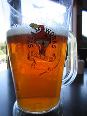 Mmmm....beer! (jamica1) Tags: canada beer glass brewing bc okanagan columbia co british kelowna steamworks