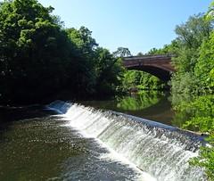 One More Time (Bricheno) Tags: bridge reflections river scotland glasgow escocia kelvin westend szkocja weir schottland scozia riverkelvin cosse  esccia   bricheno scoia