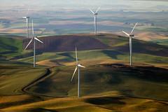 Wind turbines of Palouse (ELAITRAVEL) Tags: washington butte wind turbines palouse steptoe