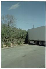 Granada - Malaga, Spain. (Dmitry Yurchenko) Tags: landscape spain parking nowhere andalucia silence granada malaga kodakgold100 kodakstar575