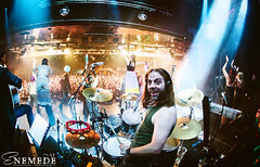SAUROM (Nat Mora Domingo -Enmede-) Tags: madrid metal funny tour drumset stage concierto nat sueos drummer donovan juglar batera lariviera xxaniversario saurom enemede