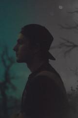 night hike with Shane (Cora Johnson) Tags: people silhouette night colorado long exposure hike