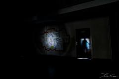 Sortir des Ruines II. (Tristan K.) Tags: sortirdesruines collge school collgeestrel estrel streetart streetartists ruins abandoned abandonm abandonment demolition urbex urbanexploration abandonedschool shadow shadows buildings saintraphal frenchriviera france