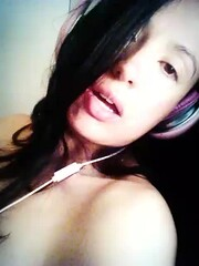 What song is....? (heidyLean) Tags: pain bed sad song leg bored angry disappointed selfievideo