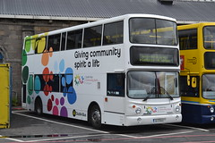 Dublin Bus AV443 05-D-10443 (Will Swain) Tags: broadstone depot 12th june 2016 bus buses transport travel uk britain vehicle vehicles county country southern south east ireland irish city centre yard garage central dublin av443 05d10443 av 443