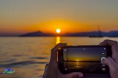 Sunset over Portofino (Simone_Callegari) Tags: sunset tramonto sea sun mare sole portofino italy italia liguria summer 2016 lights nikon d7000 boat speed speedboat cranchi mediterraneo mediterranean landscape panorama
