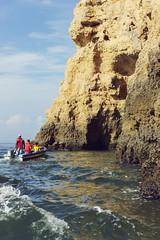 Sea and nature (Kybenfocando) Tags: travel blue sea summer sky beach portugal azul landscape mar playa summertime voyager traveling algarve vacaciones viajar viaggiare