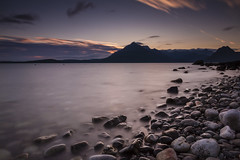 Elgol Sunset - Isle of Skye (dawnlb83) Tags: elgol sunset scotland highlands isle skye mountains seascape rocks pebbles blackcuillin cuillin longexposure nd 10stopfilter