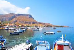 The Port (Francesco Impellizzeri) Tags: port landscape boats sicilia bonagia
