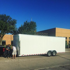 The second trailer is here, and we are ready for Move Phase 3 training this morning! Come join us at John Ross Elementary school from 9 AM to noon and see how a mobile church is set up! #mobilechurch #Edmond #Oklahoma #churchplanting (rcokc) Tags: the second trailer is here we ready for move phase 3 training this morning come join us john ross elementary school from 9 am noon see how mobile church set up mobilechurch edmond oklahoma churchplanting