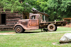 Robert Perry's truck - Hagood Mill (DT's Photo Site) Tags: southcarolina pickenssc upstatesc rural farms country roads nostalgia