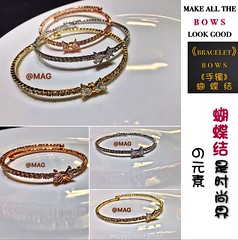 (magmiraclesaheadgroup) Tags: magmiracles  bows  bracelet ring necklace swarovski  special     gold silver rosegold   mag miracles ahead line wechat facebook singapore   mail meeting point mrt accessories    fashion