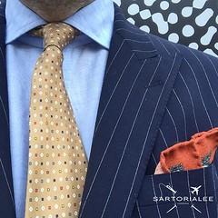 PINSTRIPES & DOTS  wearing Ralph Lauren Purple Label blazer and E.Marinella tie  #mensstyle #menswear #mensfashion #sartorial #sartoriale #sartorialeeselects #oitd #wiwt #outfitinspo #dapper #dandy #tailoring #styleforum #emarinella #ralphlaurenpurplela (leeosborne1) Tags: instagramapp square squareformat iphoneography uploaded:by=instagram menswear mensstyle sartorial luxury brands ootd wiwt sartorialee ralphlauren ralphlaurenpurplelabel august style emarinella napoli italian italianstyle gutteridge