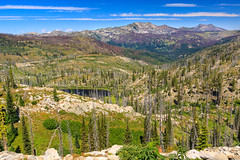 Lloyds Lake and Patrick Butte (Matthew Singer) Tags: idaho mountains payettenationalforest scenicviews lake pollock unitedstates us